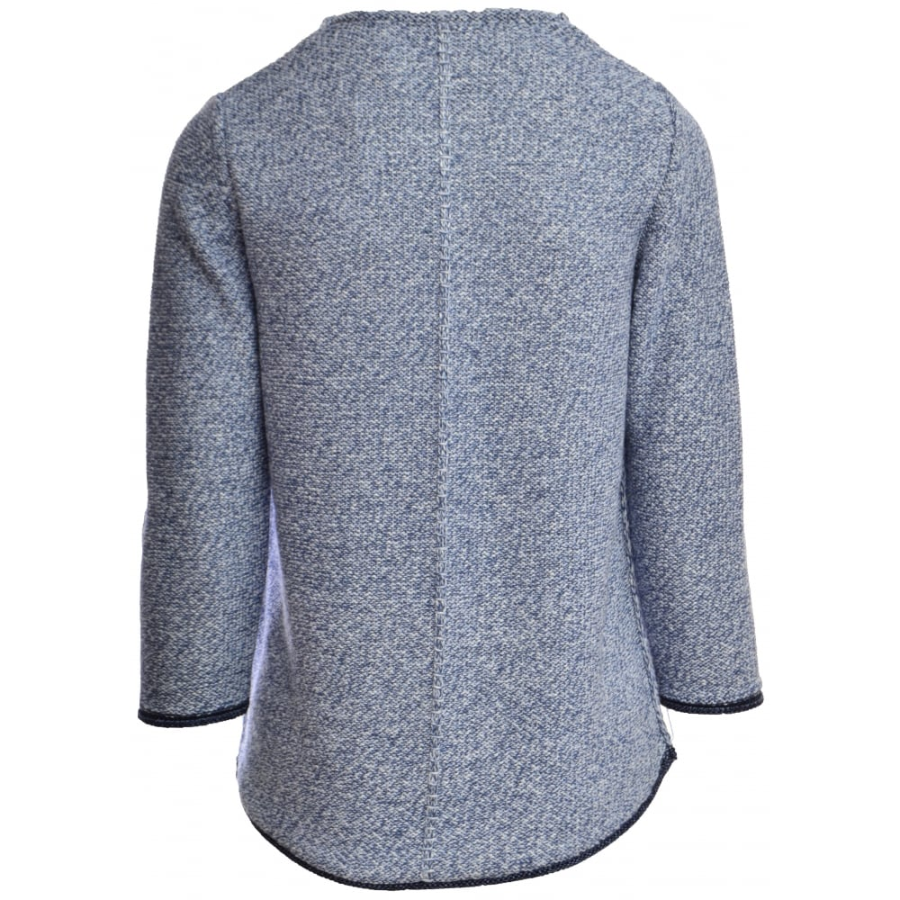 Rabe Fleck Knitted Ribbed Jumper - 40-021650. Click to enlarge 7f2ffdbfe