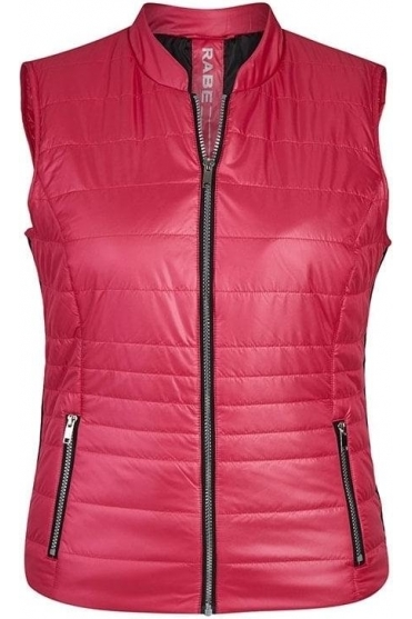 Quilted Panel Gilet - Pink - 45-024872-268