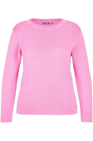 Ribbed Medium Knit Jumper - Baby Pink - 45-323648-227