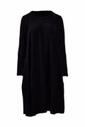 Ralston Cord Bimse Balloon Hem Dress - Black - 76043-1