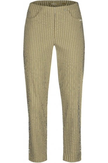Bella 09 7/8 Structured Stripes Light Taupe 13 - 52483-54567-13