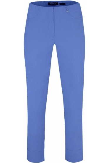 Bella 09 7/8 Trousers Azure Blue 600 - 51568-5499
