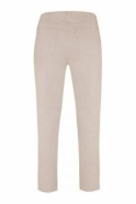 Robell Bella 09 7/8 Trousers - Sand - 51568-5499-11