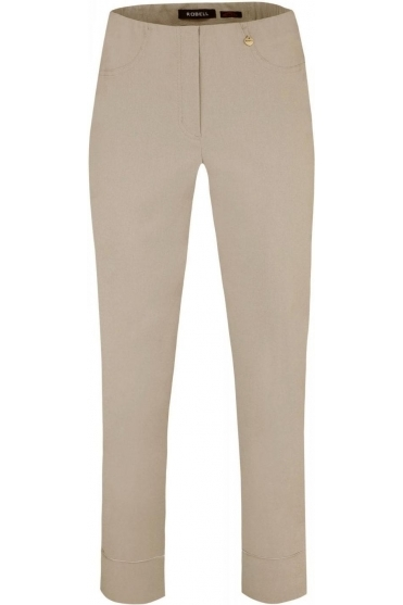 Bella 09 7/8 Trousers - Taupe - 51568-5499-13