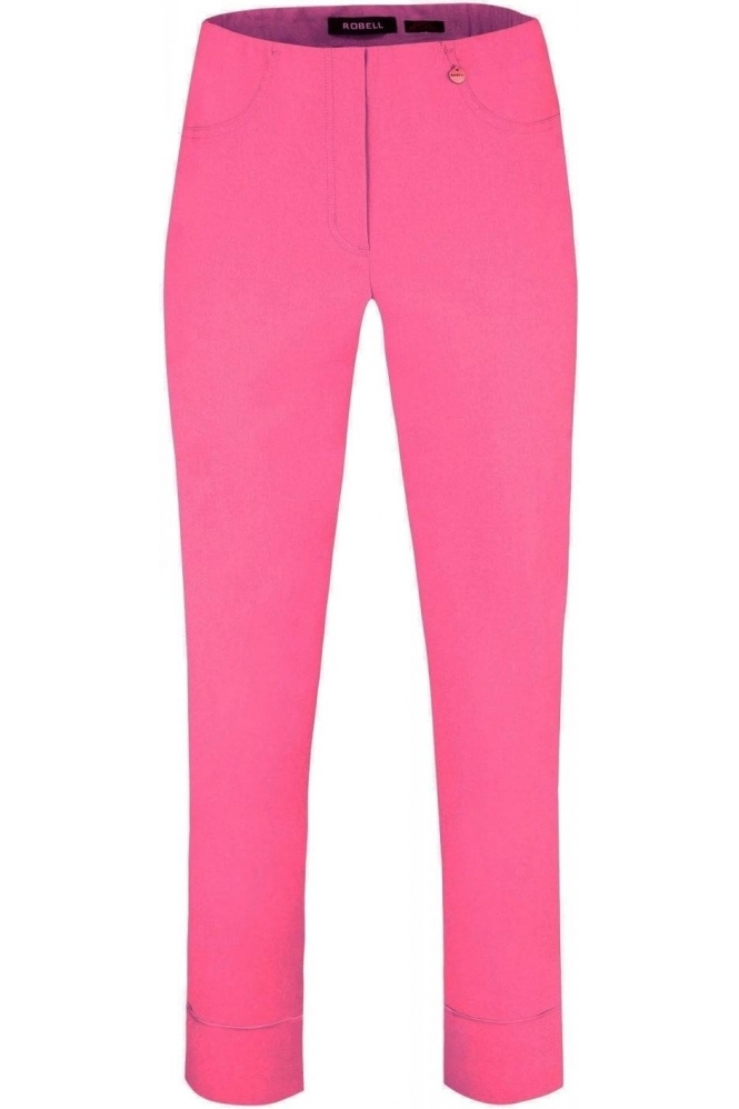 Robell Bella 09 7/8 Trousers Wild Rose - 420 - 51568-5499-420