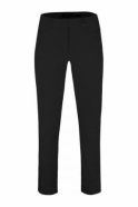Robell Bella 09 Trousers - Black - 51568-5499-90