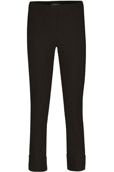 Bella 09 Trousers - Dark Brown - 51568-5499-39