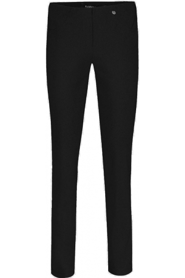 Bella Full Length Fleece Lined Trousers Black - 51559-54025-90