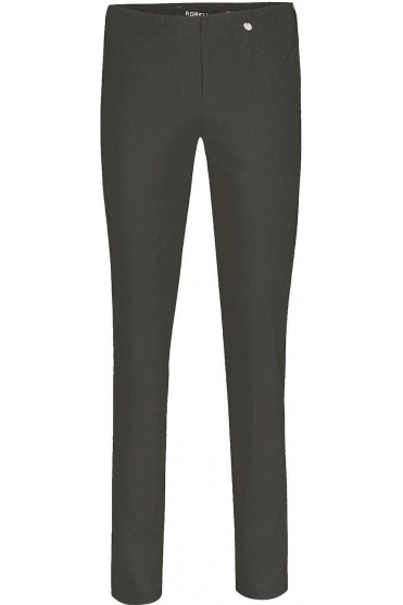 Bella Full Length Fleece Lined Trousers Dark Grey - 51559-54025-97