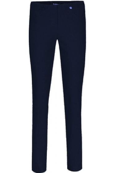 Bella Full Length Fleece Lined Trousers Navy - 51559-54025-69