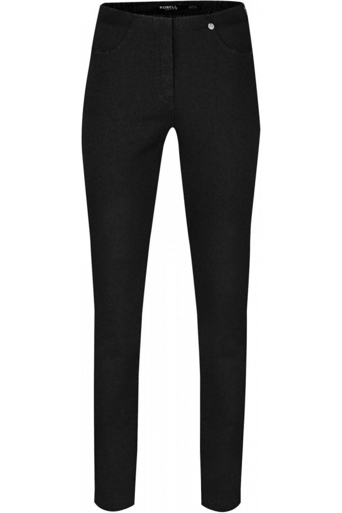Robell Bella Full Length Jeans Black 90 - 51580-5448-90