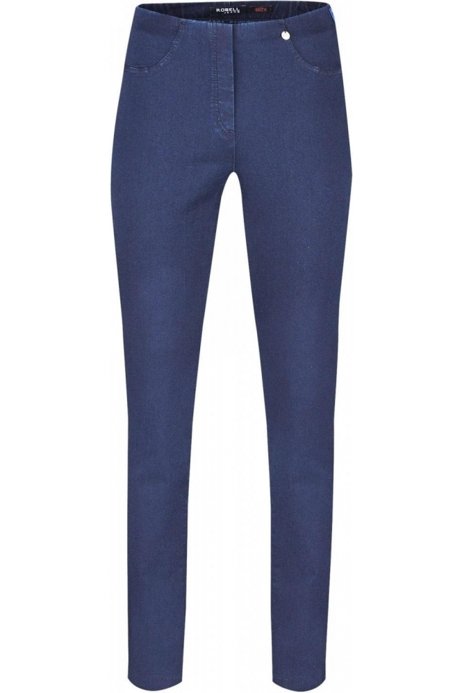 Robell Bella Full Length Jeans Denim Blue 64  - 51580-5448-64