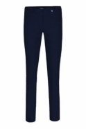 Robell Bella Full Length Navy Trousers - 51559-5499-69