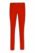 Robell Bella Full Length Red Trousers - 51559-5499-40