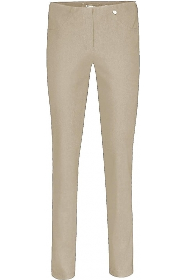 Bella Full Length Taupe Trousers - 51559-5499-13