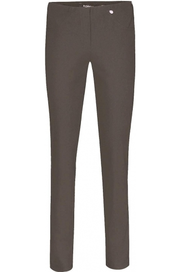 Bella Full Length Toffee Trousers - 51559-5499-38