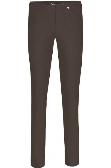 Bella Short Length Dark Brown Trousers - 51559-5499-39S