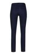 Robell Bella Short Length Front Pocket Jeans - Navy 69 - 52560-5448-69s