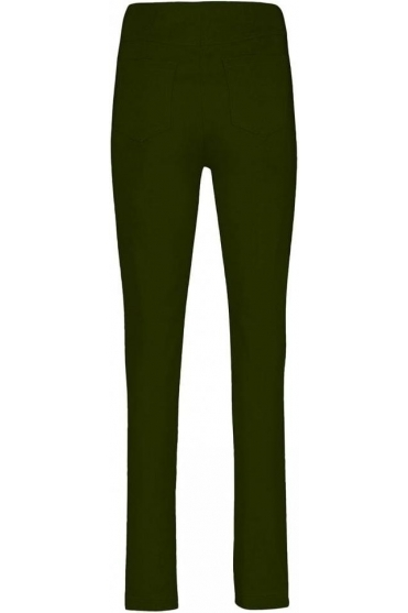 Bella Short Length Trousers - Forest Green - 51559-5499-187S