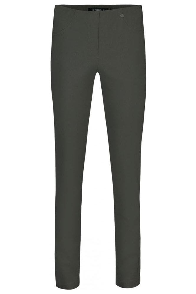 Robell Bella Short Length Trousers - Graphite - 51559-5499-96S