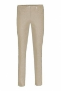 Robell Bella Short Length Trousers - Light Taupe - 51559-5499-13S