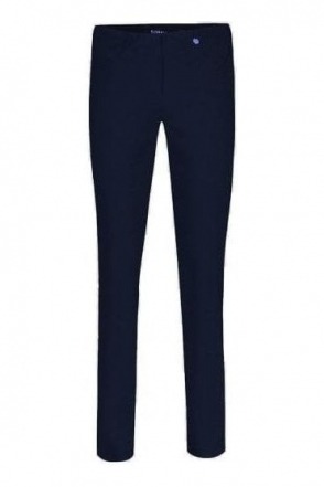 Bella Short Length Trousers - Navy - 51559-5499-69S