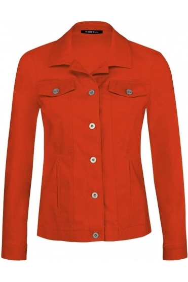 Robell Happy Jacket - Orange - 57609-5499-321