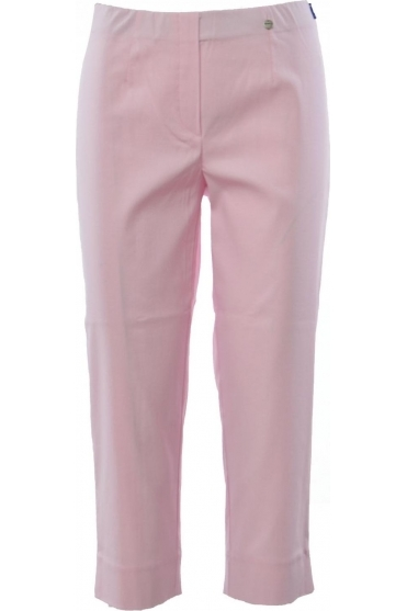 Marie Cropped Sorbet Rose Trousers - 51576-241
