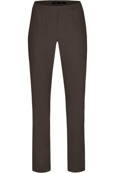 Marie Fleece Lined Trousers - Dark Brown - 51412-54025-139