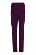 Robell Marie Fleece Lined Trousers - Lilac - 51412-54025-580
