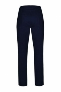 Robell Marie Fleece Lined Trousers - Navy - 51412-54025-69