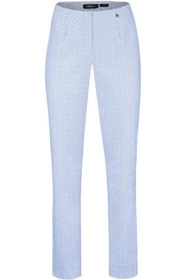 Marie Full Length Jacquards Light Blue 62 - 51412-54073