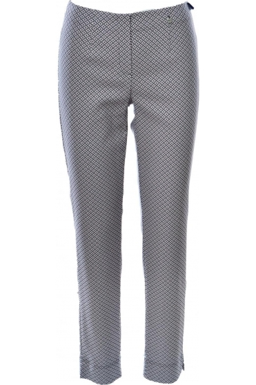 Marie Full Length Print Trousers - 51593-410