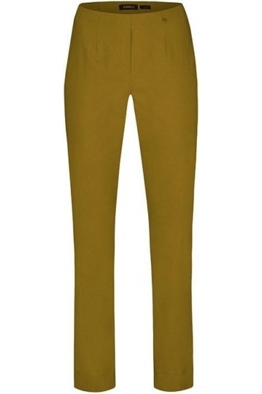 Marie Full Length Trousers - Curry - 51412-5499-26