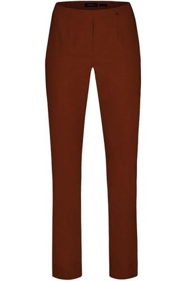 Marie Full Length Trousers - Smoked Rust - 51412-5499-361