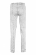 Robell Marie Short Length Jeans White - 51639-5448-10S