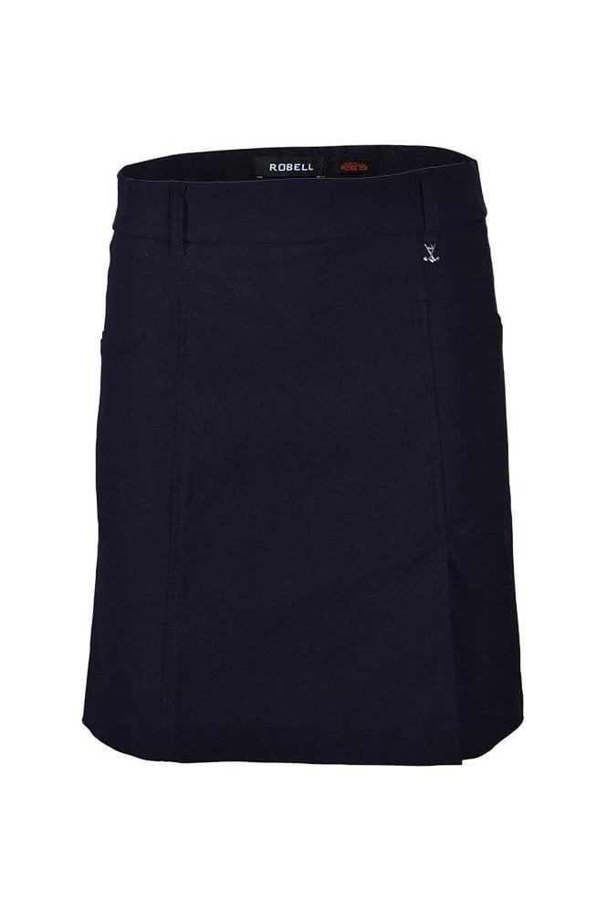 Robell Michelle Fairway Golf Skort - Navy - 55585-5499-69