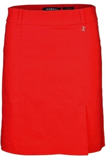 Michelle Fairway Golf Skort - Red - 55585-5499-40