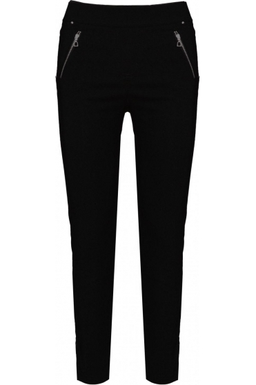 Nena 09 7/8 Crop Trousers Black 90 - 52490-5499-90