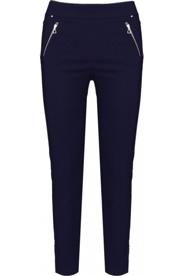 Nena 09 7/8 Crop Trousers Navy 69 - 52490-5499-69