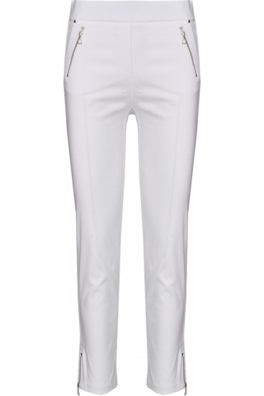 Nena 09 7/8 Crop Trousers White 10 - 52490-5499-10