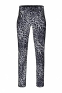 Robell Nena Full Length Animal Print - Grey - 52545-54762-95