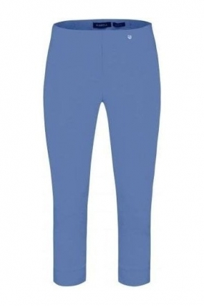 Rose 07 Cropped Trousers - Azure Blue 600 - 51636-5499-600