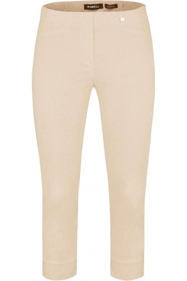 Rose 07 Cropped Trousers Beige 14 - 51636-5499-14