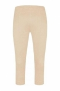 Robell Rose 07 Cropped Trousers Beige 14 - 51636-5499-14