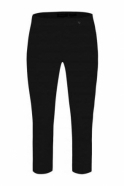 Robell Rose 07 Cropped Trousers Black 90 - 51636-5499-90