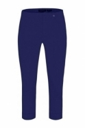 Robell Rose 07 Cropped Trousers - Denim Blue 68 - 51636-5499-68