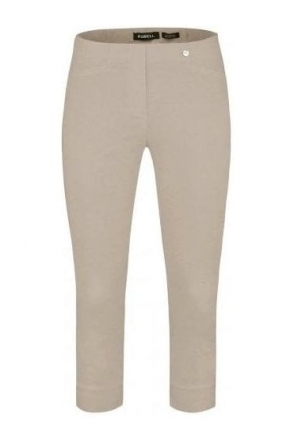 Rose 07 Cropped Trousers Light Taupe 13 - 51636-5499-13