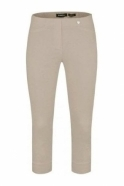 Robell Rose 07 Cropped Trousers Light Taupe 13 - 51636-5499-13