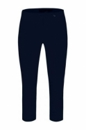 Robell Rose 07 Cropped Trousers Navy 69 - 51636-5499-69